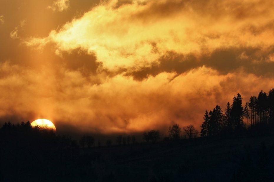 Sonnenaufgang Ostern